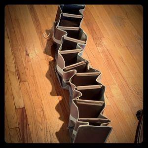 10 shoe hanging organizer